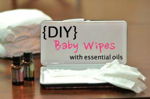diy baby wipes