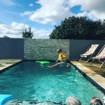 Lazy afternoons by the pool qld spring fun