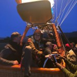 Getting in and out of a hot air balloon ishellip