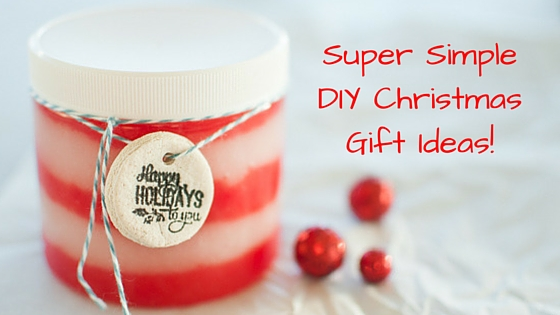 simple diy christmas gift ideas crafting