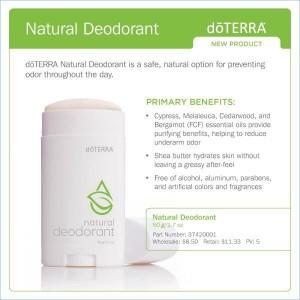 doterra deodorant