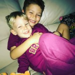 Brother love! broncos charmander cuddles family cute