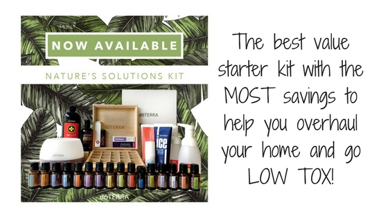 The best value starter kit with the MOST savings to help you overhaul your home and go LOW TOX!